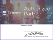 Certificate Extreme Authorized Partner