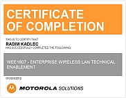 WLAN Enablement Certificate